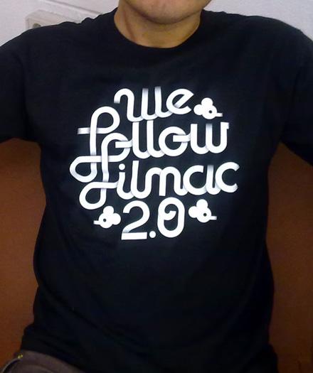 camiseta we follow filmac